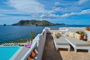 Master terrace sea view with Jacuzzi